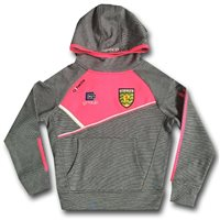 ONeills Ladies Donegal Conall 14 Fleece Hoodie -  Navy/Flor. Pink/White
