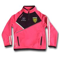 ONeills Ladies Donegal Half Zip Squad Top - Flor. Pink/Navy/White
