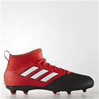Adidas Ace 17.3 FG J Football Boots - Red/Black