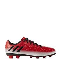 Adidas Messi 16.4 FxG J Kids Football Boots - Red/Black/White