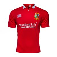 Canterbury British & Irish Lions Matchday SS Jersey - A Tango Red