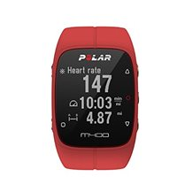 Polar M400 GPS Running Watch with Heart Monitor - Red