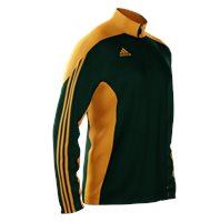 Adidas Mi Team 14 Training Top - Adult - Green/Gold/Gold