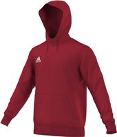 Adidas Core Hoody Youth - Power Red/White
