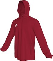 Adidas Core Rain Jacket Youth - Power Red/White