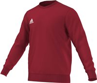 Adidas Core Sweat Top - Power Red/White
