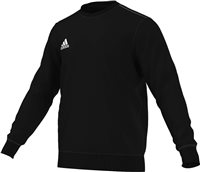 Adidas Core Sweat Top Youth - Black/White