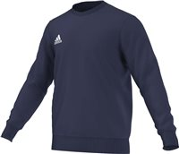 Adidas Core Sweat Top Youth - Dark Blue/White