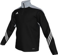 Adidas Sereno 14 Training Top  Youth - Black/Silver/White