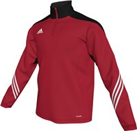 Adidas Sereno 14 Training Top  Youth - University Red/Black/White