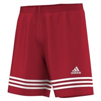 Adidas Entrada 14 Shorts - University Red/White