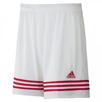 Adidas Entrada 14 Shorts - White/Poppy