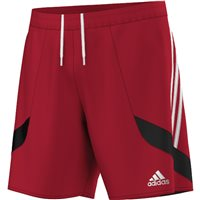 Adidas Nova 14 Shorts Youth - University Red/White/Black
