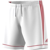 Adidas Squad 17 Shorts - White/Power Red