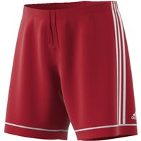 Adidas Squad 17 Shorts With Brief   - Power Red/White