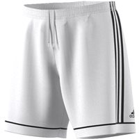 Adidas Squad 17 Shorts With Brief   - White/Black