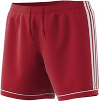 Adidas Squad 17 Shorts Womens - Power Red/White