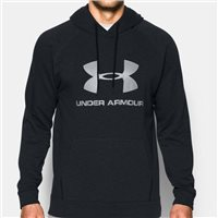 Under Armour Mens Sportstyle Triblend Pullover Hoodie -  Dark Grey