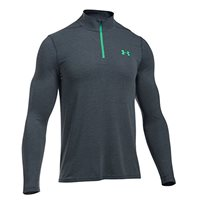 Under Armour Mens Threadborne Fitted 1/4 Zip Top -  Grey