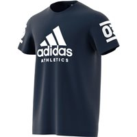 Adidas Mens 360 Cotton T-Shirt - Navy/White