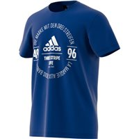 Adidas Mens Logo Tee - Royal/White