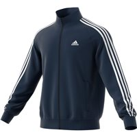 Adidas Mens Essential 3 Stripe Track Top - Navy/White