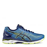 Asics Mens Gel Kayano 23 Running Shoes -  Blue/Safety Yellow/Blue