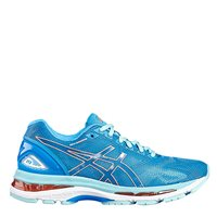 Asics Womens Gel Nimbus 19 -  Sky/Orange/Coral
