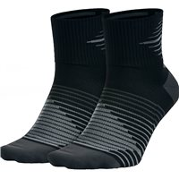 Nike 2pk Anti-Blister Sock -  Black/Grey