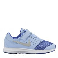 Nike Downshifter 7 Pre School Velcro PSV -  Sky/Royal/Silver