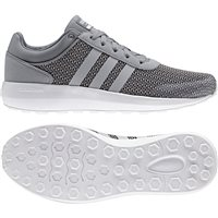 Adidas Mens Cloudfoam Race - Grey/Grey