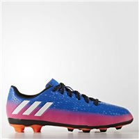 Adidas Messi 16.4 FxG J Kids Football Boots - Royal/Pink
