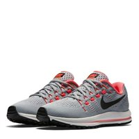 Nike Womens Air Zoom Vomero 12 -  Grey/Black/Pink