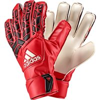 Adidas Ace Fingersave Junior Goalkeeper Gloves - Red/White/Black