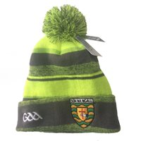Introsports Donegal GAA Melange Bobble Hat - Grey/Volt