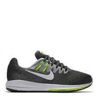 Nike Mens Air Zoom Structure 20 -  Grey/White/Volt