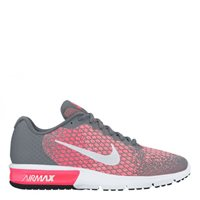 Nike Womens Air Max Sequent 2 -  Grey/White/Pink