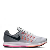 Nike Womens Air Zoom Pegasus 33 -  Grey/Black/Pink