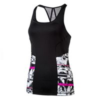 Puma All Eyes On Me Tank Top -  Black/Grey/Pink