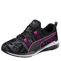 Puma Womens Pulse Ignite XT Swan -  Black/White/Magenta