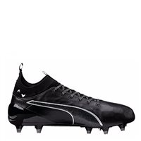 Puma evoTOUCH 1 Firm Ground Football Boots FG -  Black/Black/Silver