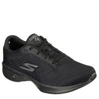 Skechers Womens Go Walk 4 - Exceed - BBK Black