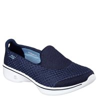Skechers Womens Go Walk 4 - Kindle - NVW Navy/White