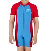 Speedo Infants Seasquad Hot Tot Suit - Blue/Red