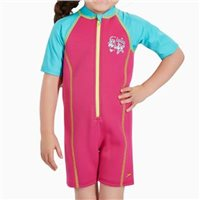 Speedo Infants Seasquad Hot Tot Suit - Pink/Blue