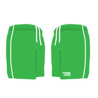 Briga GAA Shorts - Green/White