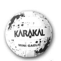 Karakal Mini Gaelic Ball - White