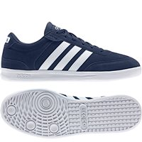 Adidas Mens Cross Court Trainers - Navy/White