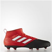 Adidas Ace 17.3 PrimeMesh FG Boots - Black/Red