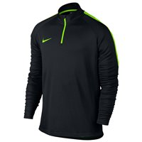 Nike Kids Dry Academy Drill Top -  Black/Electric Green